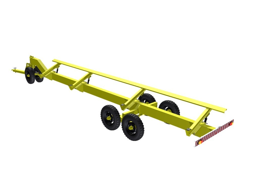Carreta plataforma agrícola