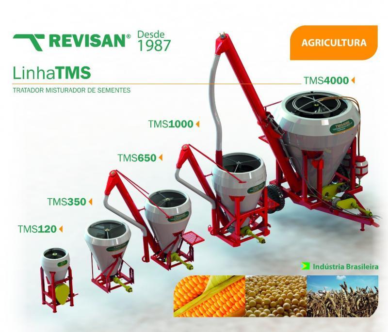 Máquina de misturar sementes