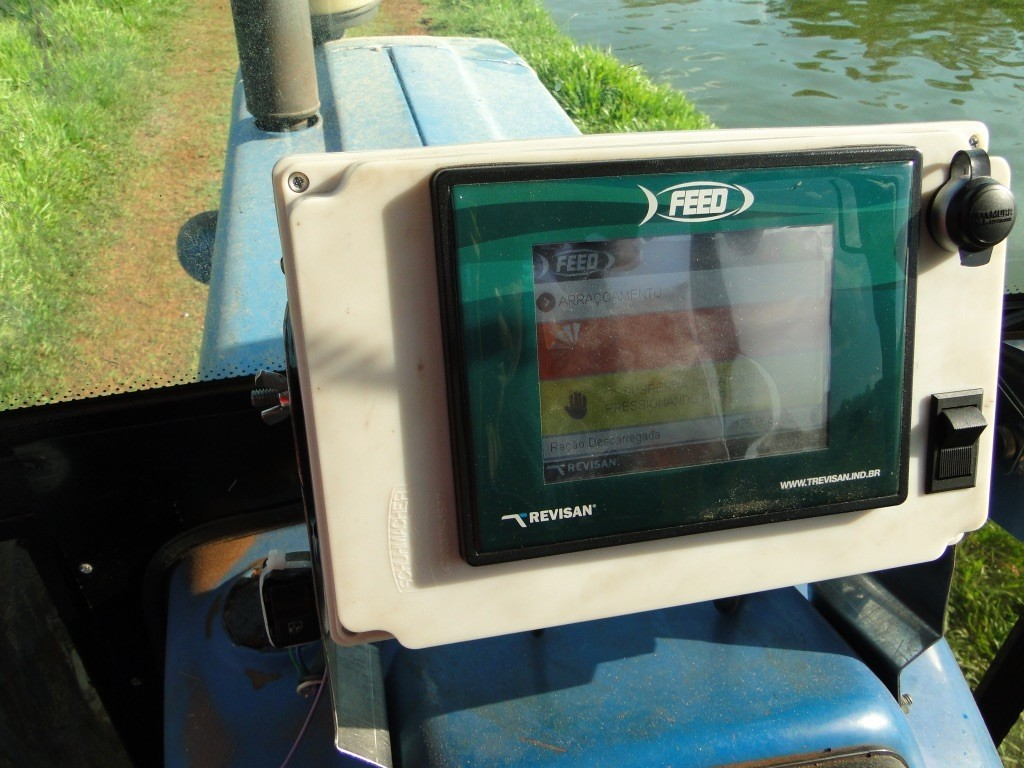 Sistema automatizado para alimentador de peixes