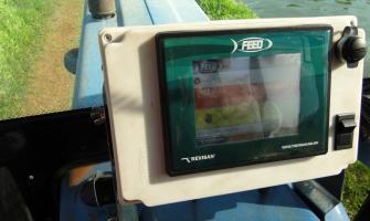 Sistema para alimentador de peixes